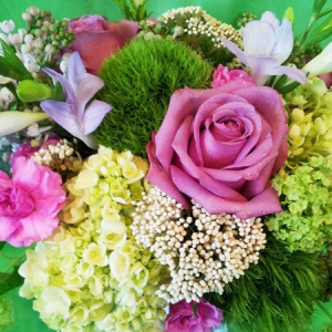 Nature Sings Vase Arrangement in Northport, NY | Hengstenberg's Florist