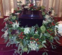 NATURE AT REST  Cremation Arrangement (urn not included)