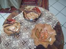 nature vessells  hand built ceramic bowls and vases