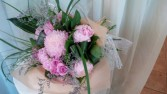 Natures Blush Beauty Hand-tied bouquet
