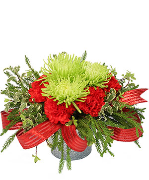 Nature's Christmas Gift Flower Arrangement in Wichita Falls, TX | MOTHER EARTH FLORIST