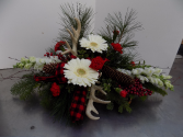 Natures Holiday Fresh winter arrangement