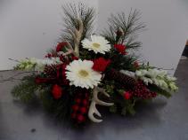 Natures Holiday Fresh winter arrangement