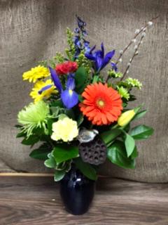 Natures melody  Vase arrangement