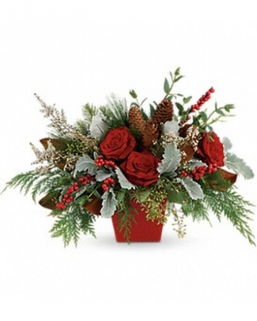 Nature's Noel Flower Arrangement