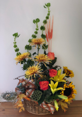 Natures Walk Basket  Arrangement