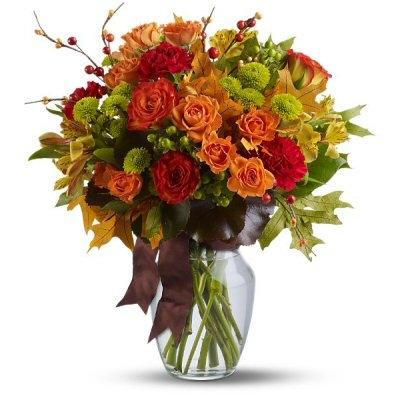 Natures Wonder Bouquet Fall Arrangement