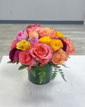 Navesink Sunset Vase Arrangement