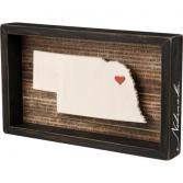 Nebraska Box Sign