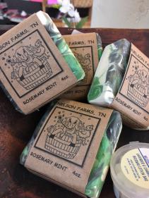 Nelson Farms Goats Milk Soap assorted scents per season