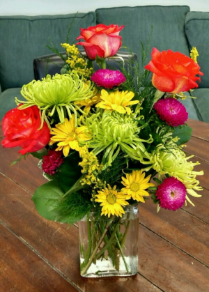 Neon Splash Arrangement in Bluffton, SC | BERKELEY FLOWERS & GIFTS