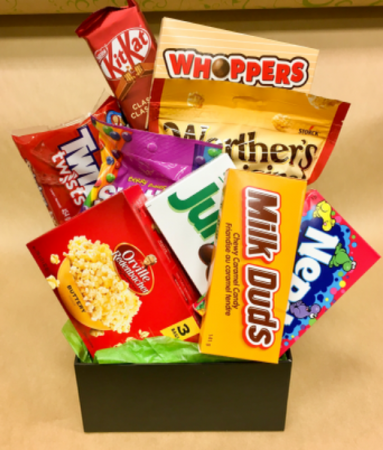 Netflix Movie Night Box  Gift Box