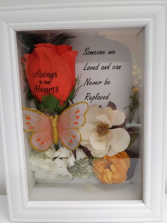 Never be replaced Gift shadow box