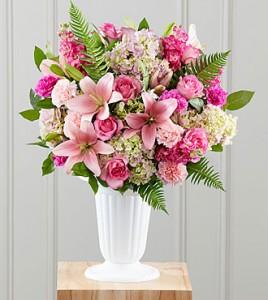 Never-Ending Love Funeral Flowers
