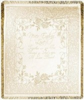 Never Ending Love Golden Anniversary Woven Throw