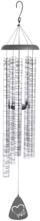 """Never Forgotten Wind Chime Large 55"""" Carson Chimes"""