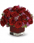 Never Let Go-  Red Roses Bouquet