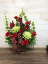 quiet remembrance Floral arrangement
