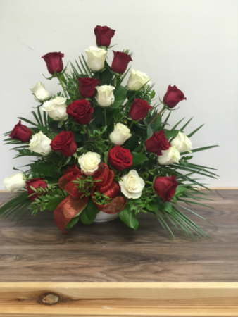 loving memorial Floral arrangement