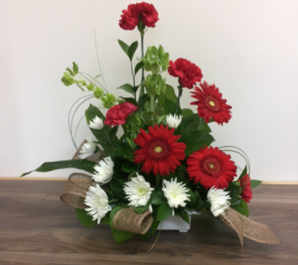 in our thoughts Floral arrangement