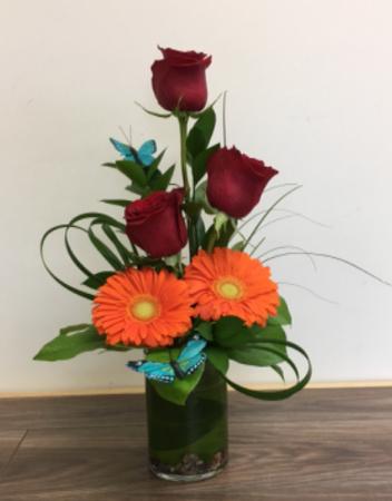 butterfly treasure Floral arrangement