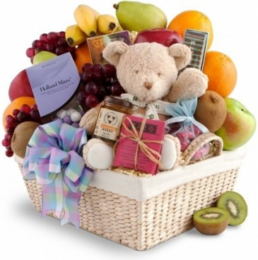 NEW ARRIVAL FRUIT & GOURMET GIFT BASKET