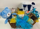 New Baby and Mom gift basket Baby Boy