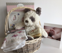 New Baby Basket Gift Basket