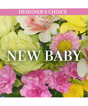 New Baby Florals Designer's Choice in Port Stanley, ON | FLOWERS BY ROSITA