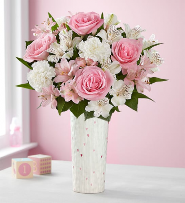 New Baby Girl Bouquet