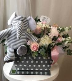 New Baby Girl Fun!!! Floral Arrangement