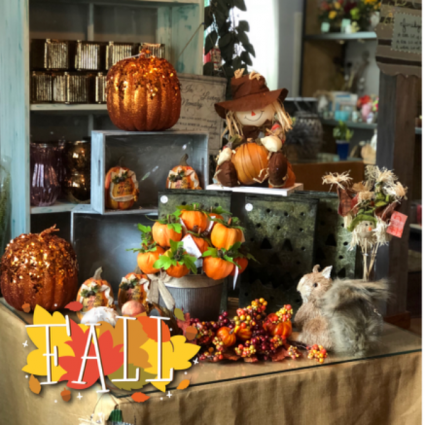 60% Off Fall Decor and Fall Silk