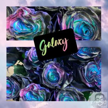 New GALAXY Roses Vase arrangement