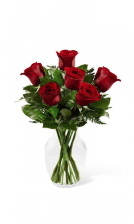 New Love Bouquet Vase Arrangement