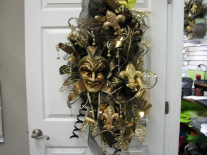 new orlaens flair wreath silk wreath