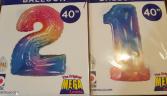NEW Rainbow Oversized 40