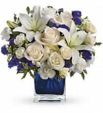 Sapphire Skies Bouquet  TEV25-3
