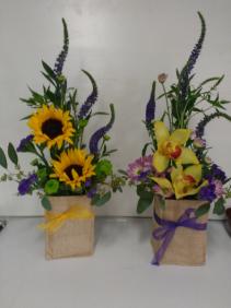 New Year's Celebration Contemporary Vase Arrangement