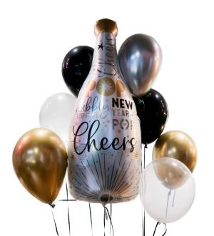 NEW YEARS EVE Balloon Set  in Biloxi, MS | Rose's Florist