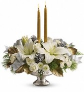 New Year*Silver And Gold CenterpieceTWR09-1A