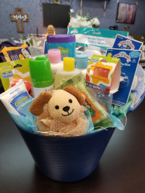 Newborn Baby Boy Gift Basket