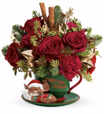 Night Before Christmas Christmas Bouquet