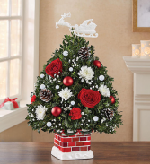 Night Before Christmas Holiday Tree special container