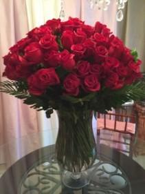 Nine dozen roses!!!!!