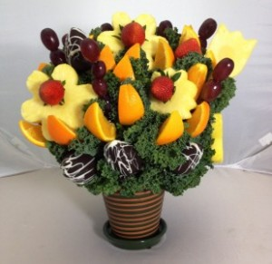 No Melon Please Fruit Bouquet  Please give us 24 hr notice in Springfield, IL | FLOWERS BY MARY LOU INC
