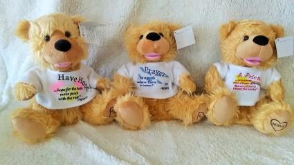Noah Prayer Bears Plush Animals In Seagoville Tx White S Florist