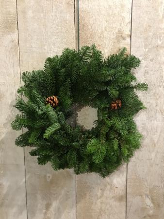 Noble Fir Wreath Outdoor Wreath
