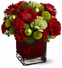 Noel Chic Vase arrangement