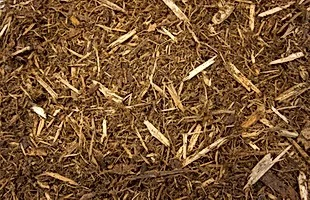 Non-Died Shredded Mulch (Natural Mulch) Priced by a yard. Choose Pick up in the Store.