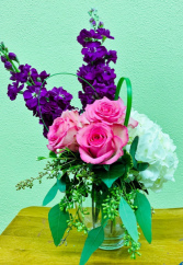 Nonna's Garden Vase